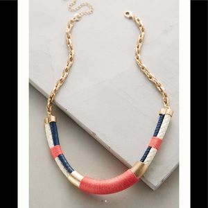 ⚓️NWT-Anthropologie Nautical Necklace ⚓️